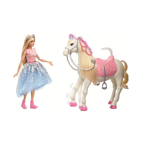 Principessa Barbie Con Cavallo