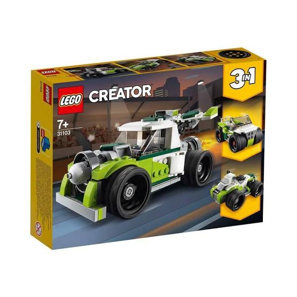 LEGO Creator Razzo Bolide...