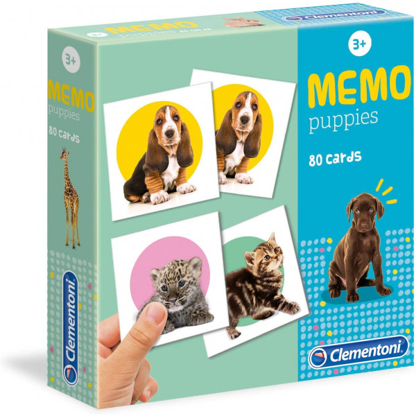 Clementoni Memo Games Puppies