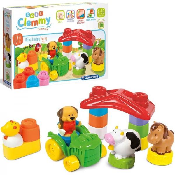 Soft Clemmy Baby Happy Farm