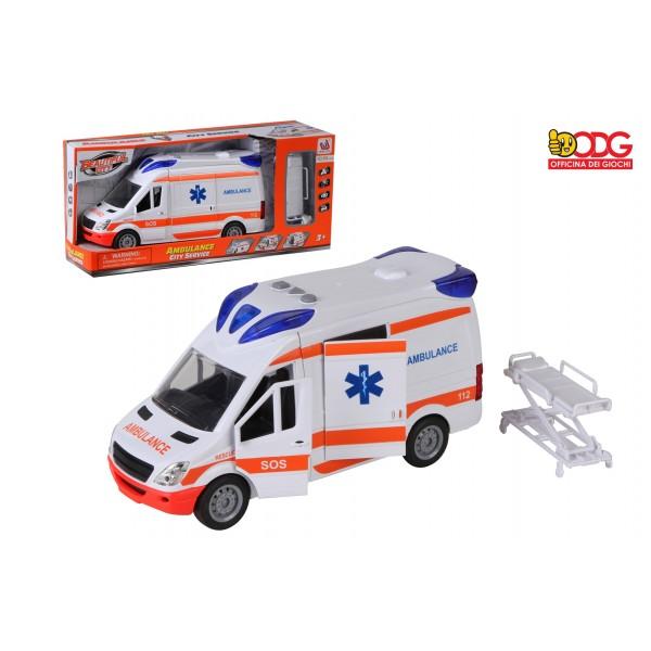 Ambulanza Luci e Suoni 26cm...