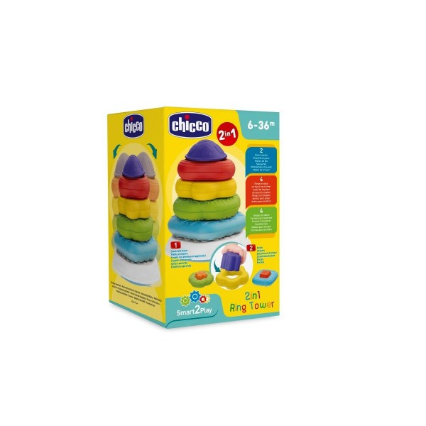 Chicco Gioco 2 in 1 Torre