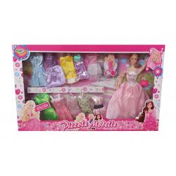 Set Bambola con Vestiti