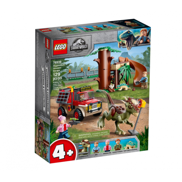 Lego Jurassic World La fuga...
