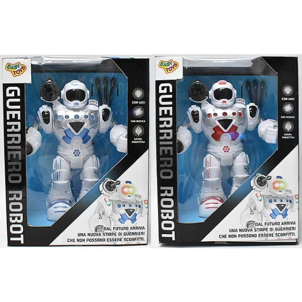 Robot Guerriero Bianco con...
